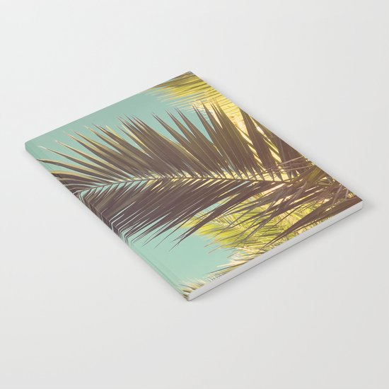 Autumn Palms Notebook