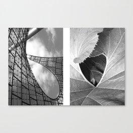 untold spaces Canvas Print