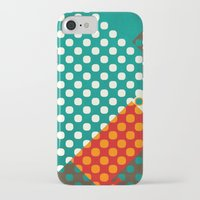 dots iPhone & iPod Cases featuring Dots by SensualPatterns