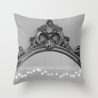 ornate Throw Pillows featuring Ornate by Cassidy Marshall