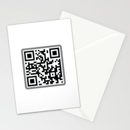 Andy Spanjer Design QR Code Stationery Cards