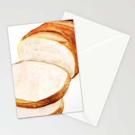 White bread Stationery Cards