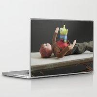 alien Laptop & iPad Skins featuring Alien by Beastie Toyz