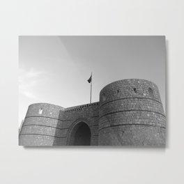 Ancient Fortress Metal Print