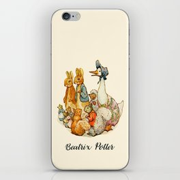 Bedtime Story Animals iPhone Skin