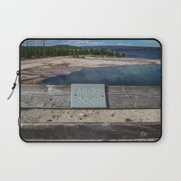 Abyss Pool, West Thumb Geyser Basin, Yellowstone National Park Laptop Sleeve