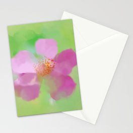 Ballerina Rose, Painterly Stationery Cards