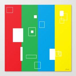 Simple Color Canvas Print