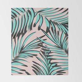 Tropical print Throw Blanket