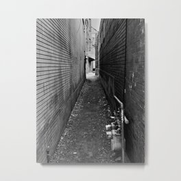 ...any path will take you there... Metal Print
