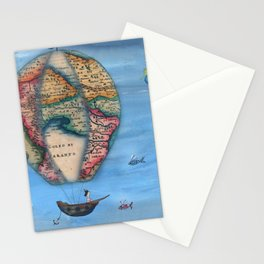 Pirate Balloon 2 Stationery Cards