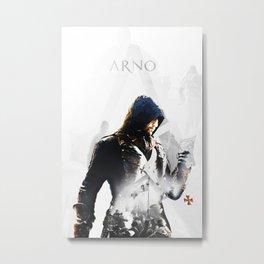 Arno Dorian, Double exposure Metal Print