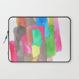 171013 Invaded  Space 2   abstract shapes art design  abstract shapes art design colour Laptop Sleeve
