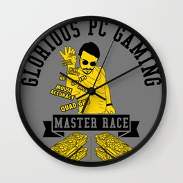 Glorious PC Gaming Master Race Wall Clock