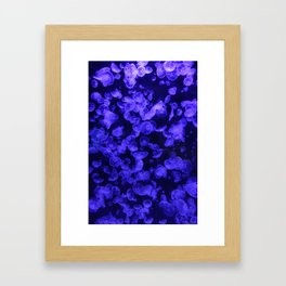 Moon Jellies Framed Art Print