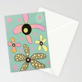 FLOWERY IDA  / ORIGINAL DANISH DESIGN bykazandholly Stationery Cards