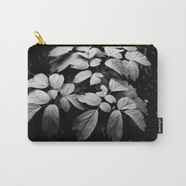 Monochrome Droplet Carry-All Pouch
