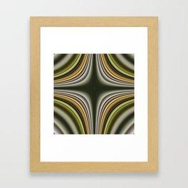 Fractal Cross in CMR 01 Framed Art Print