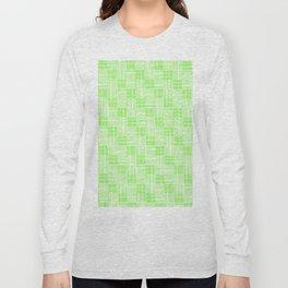 Interpretive Weaving (Spring Shoots) Long Sleeve T-shirt
