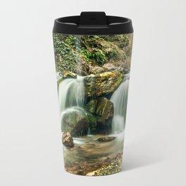 waterfalls  Metal Travel Mug