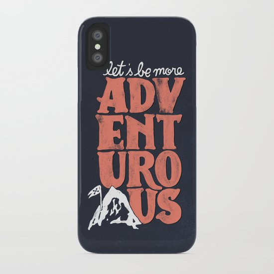More Adventurous! iPhone Case