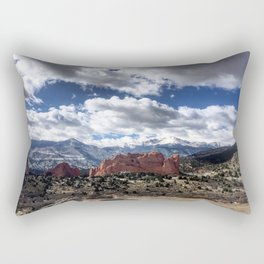 Pikes Peak in Colorado Springs Rectangular Pillow