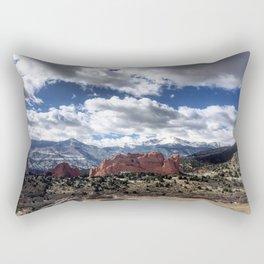 Pikes Peak in Colorado Springs Rectangular Pillow