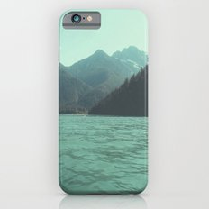 Desolation is beyond the horizon - Diablo Lake iPhone 6s Slim Case