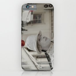 Artist white red iPhone Case