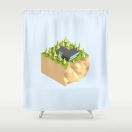 MS-05 Shower Curtain