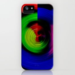 Lollipop Swirl iPhone Case