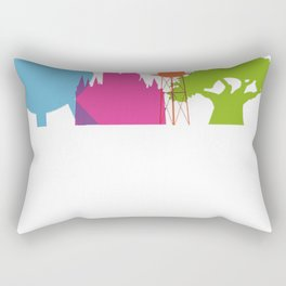 The Magic Icons Rectangular Pillow