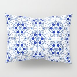 Delft Pattern 2 Pillow Sham