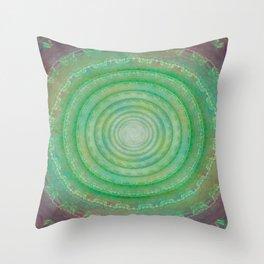 Spiral Deceit Throw Pillow