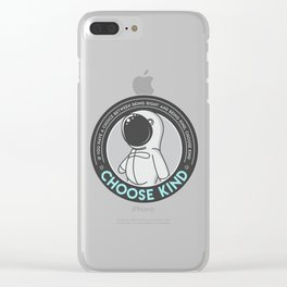 Choose Kind Clear iPhone Case