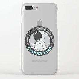 Choose Kind Clear iPhone Case