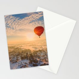 Floating Sunrise Stationery Cards