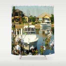 Backyard Bliss - Paynesville - Australia Shower Curtain