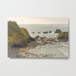 Ecola Point, Oregon Coast, hiking, adventure photography, Northwest Landscape Metal Print