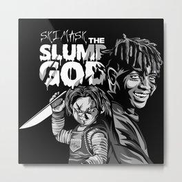 Ski and Chucky Metal Print