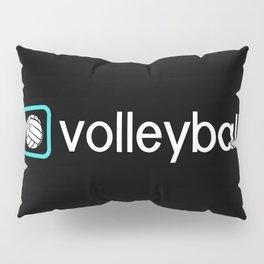 Volleyball (Blue) Pillow Sham