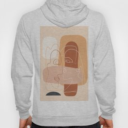 Abstract Faces 35 Hoody
