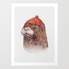 River Otter Kunstdrucke