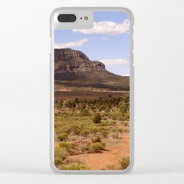 Rawnsley Bluff in the Australian Flinders Ranges Clear iPhone Case