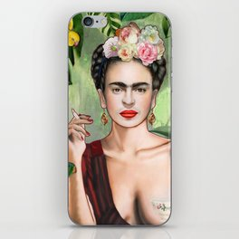 Frida con Amigos iPhone Skin