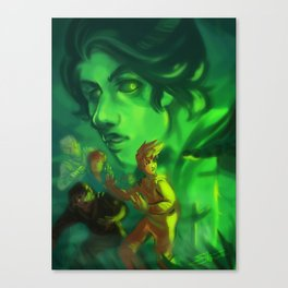 Ninjago - Ghosts Canvas Print