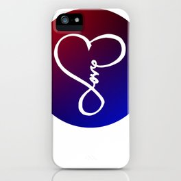 You are the Rainbow of My Heart iPhone Case