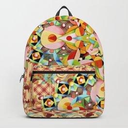 Bijoux Carousel Plaid Backpack