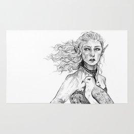 Queen of Terrasen Rug