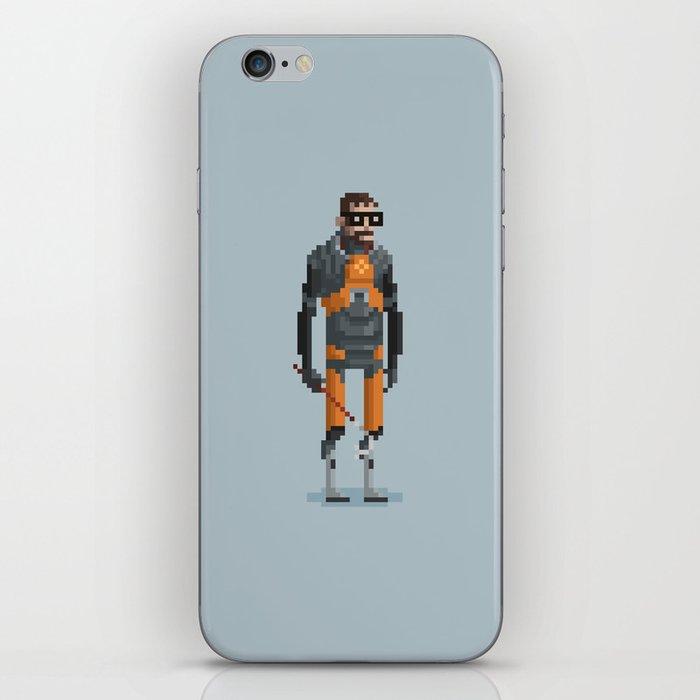 Man With a Crowbar iPhone Skin